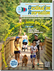 Fall 2012/Winter 2013 edition of James City County Parks and Recreation's Activity Brochure