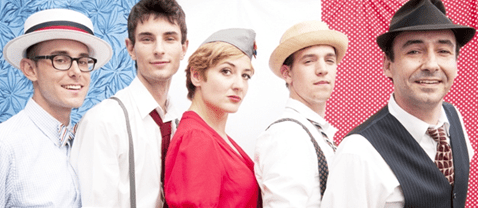legendary Hot Sardines mix le jazz hot of Paris with the salty stride piano of N'Awlins