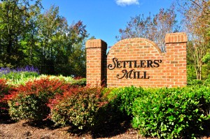 Settlers Mill Entrance Williamsburg VA