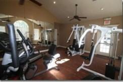 fitness room villas at five forks