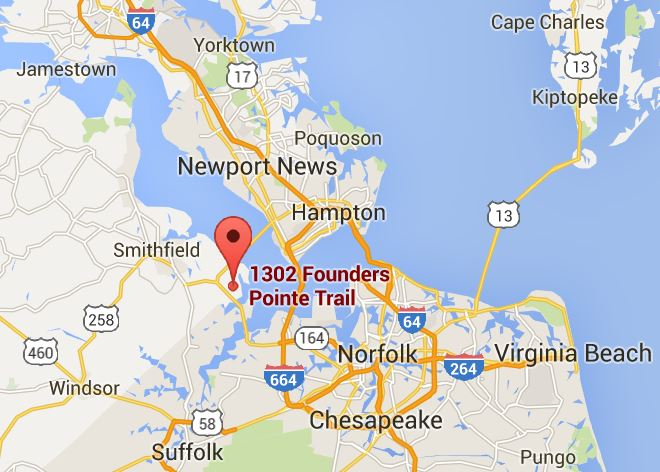 founders pointe map