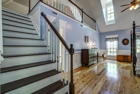 15a master bedroom stairs to loft