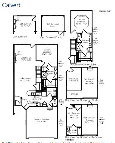 calvert model floorplan