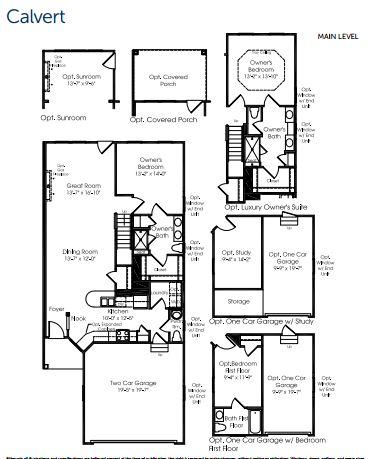 calvert model floorplan