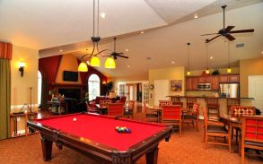 clubhouse interior villas at five forks