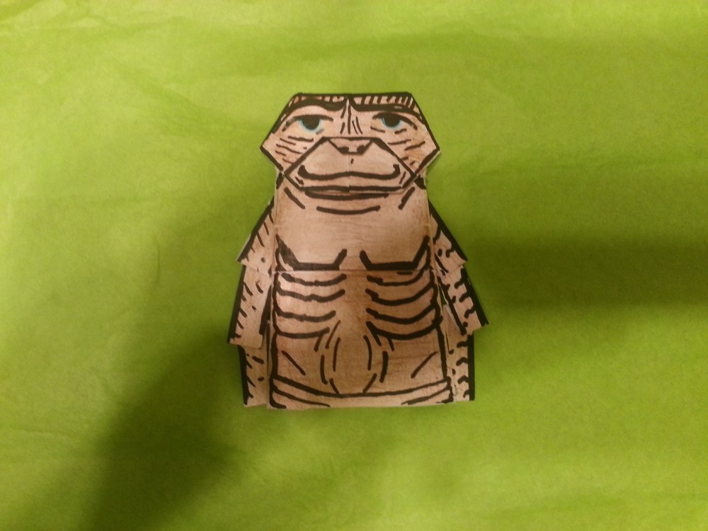 Origami E.T the extra terrestrial!