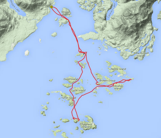 Actual Route