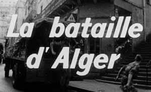 La bataille d' Alger