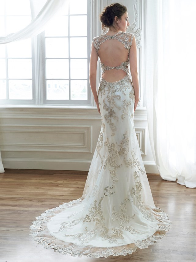 perfect pairings: gowns and hairstyles - love maggie : love