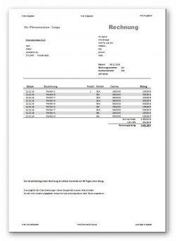Professionelle Word Briefvorlage mit Steuerelementen zum