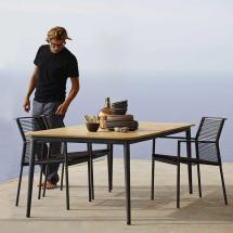 Edge Rope Dining Chair Cane-line Worm