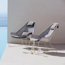 Breeze Outdoor Lounge Chairs Cane-line Worm