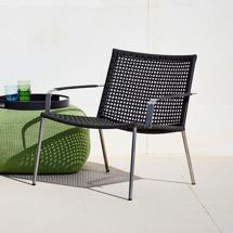 Straw Lounge Chair Cane-line Worm Turned