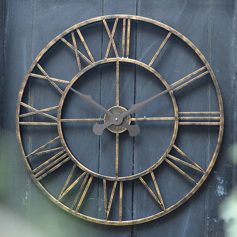 Buy Extra Large 70cm Vintage Clock  The Worm that Turned