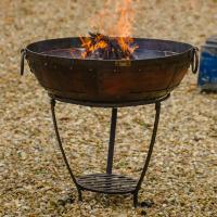 Buy Kadai Firebowl Set with High and Low Stand  The Worm ...