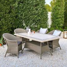 Lansing Rectangular Outdoor Dining Tables Cane-line