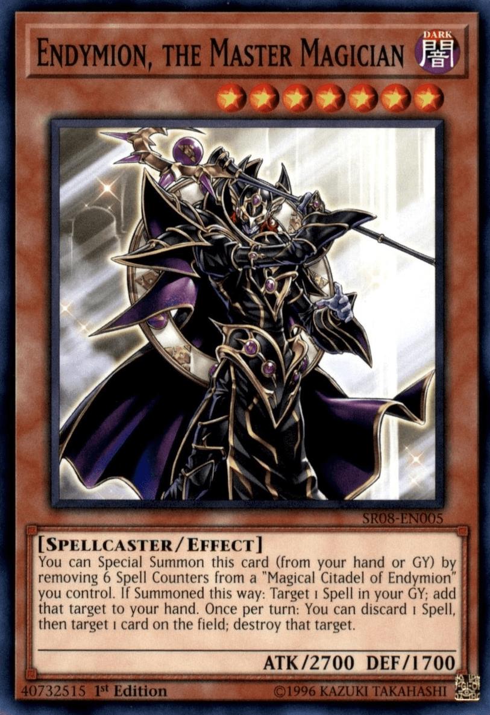 Endymion, the Master Magician - Yugipedia - Yu-Gi-Oh! wiki