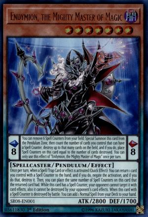Endymion, the Mighty Master of Magic - Yugipedia - Yu-Gi-Oh! wiki