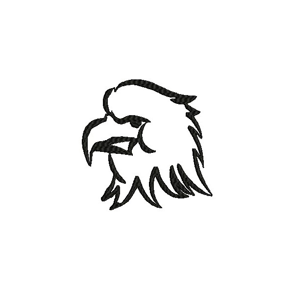 Eagel Embroidery Designs Outline