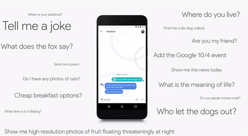 Google Working With Writers To Craft Jokes That Assistant Will Tell You Mobilescout Com