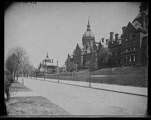 Johns Hopkins Hospital, Baltimore, Md.. American Memory Project, Touring Turn-of-the-Century America: Photographs from the Detroit Publishing company, 1880-1920 LC-D4-14265 DLC (b&w glass neg.). Library of Congress
