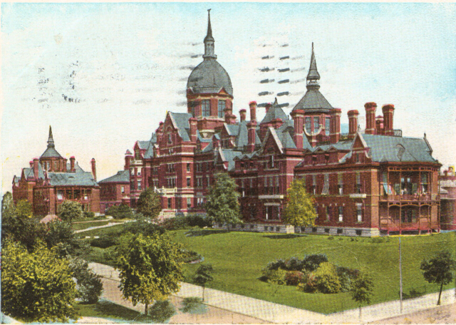 Johns Hopkins Hospital, Baltimore, Md. Private collection