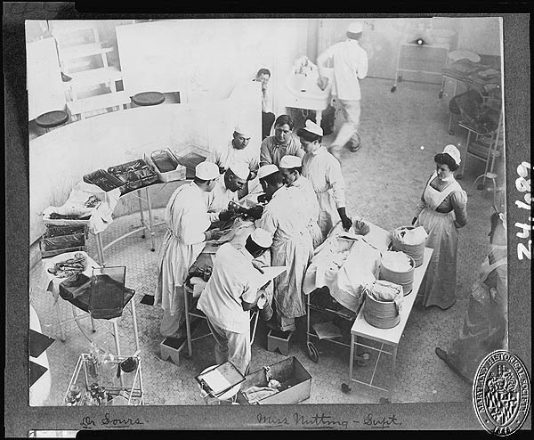 John Hopkins Hospital 1904 Operating Room (Z24.415). Photograph Collections Cross-Section. Maryland Historical Society