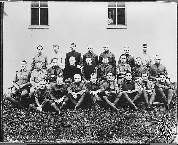 McFee - group of recovering wounded PP32 (Z24.608). Maryland Historical Society
