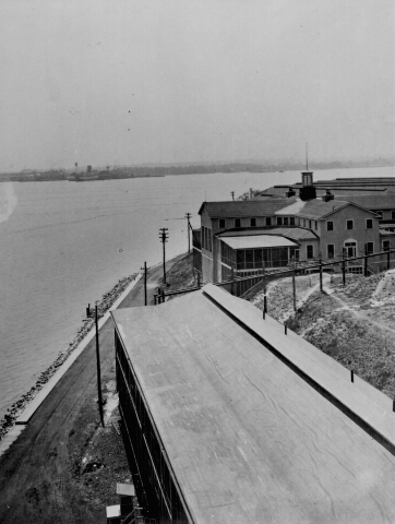 Hospital at Fort McHenry, WWI. Fort McHenry National Monument and Historic Shrine. Fort McHenry National Monument and Historic Shrine