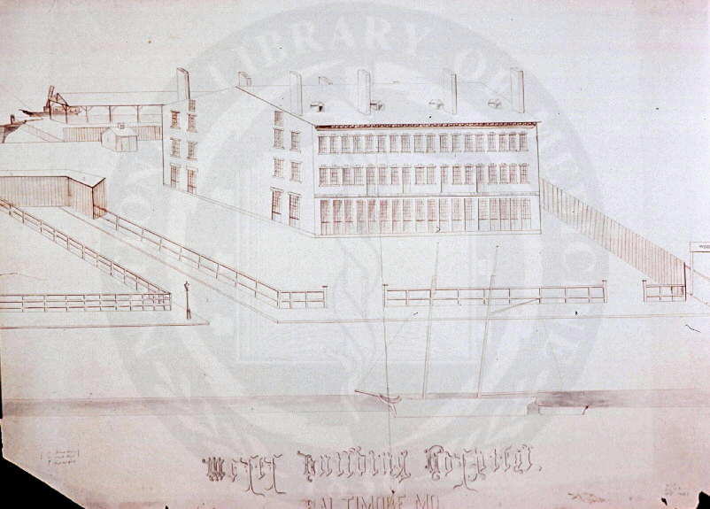 Mercy Hospital Building. Images from the History of Medicine Collection, Order No. A027651. National Library of Medicine, History of Medicine Division