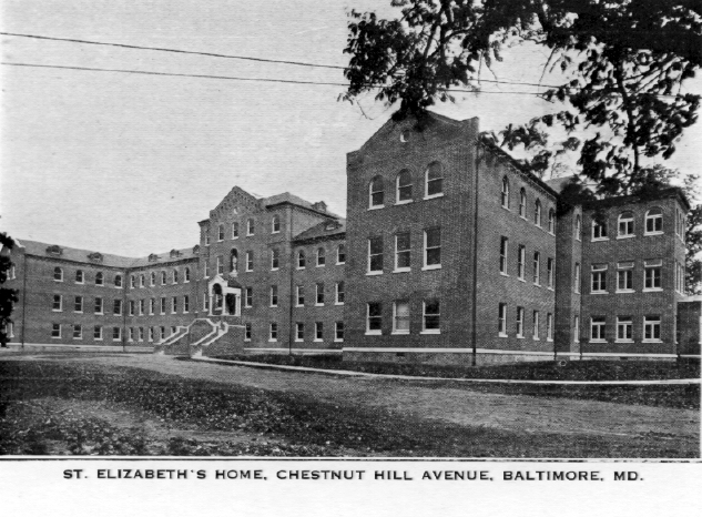 St. Elizabeth's Home, Chesnut Hill Avenue, Baltimore, Md.