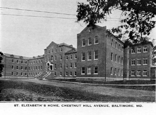 St. Elizabeth's Home, Chesnut Hill Avenue, Baltimore, Md.
