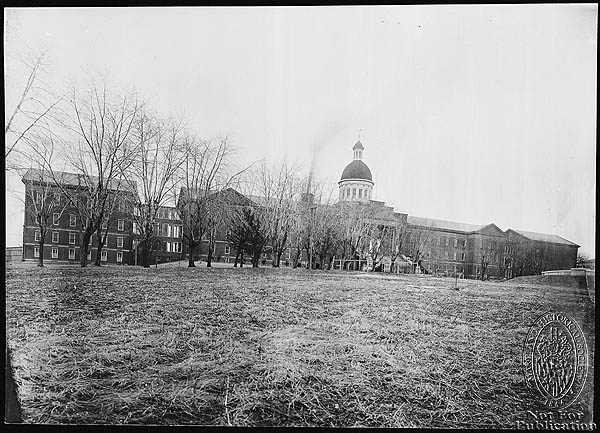 Bay View Asylum – ca. 1900 PP71.7 (Z24.1378). Photograph Collections Cross-Section. Maryland Historical Society