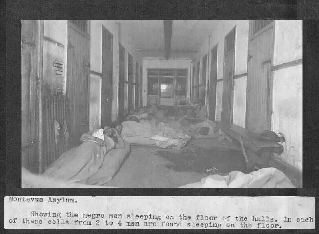 Montevue Asylum, African American male ward. 23rd Annual Report of the Maryland Lunacy Commission. Maryland State Archives