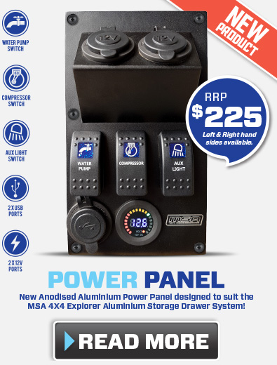 Power Panel - New Product from MSA 4X4 Accessories
