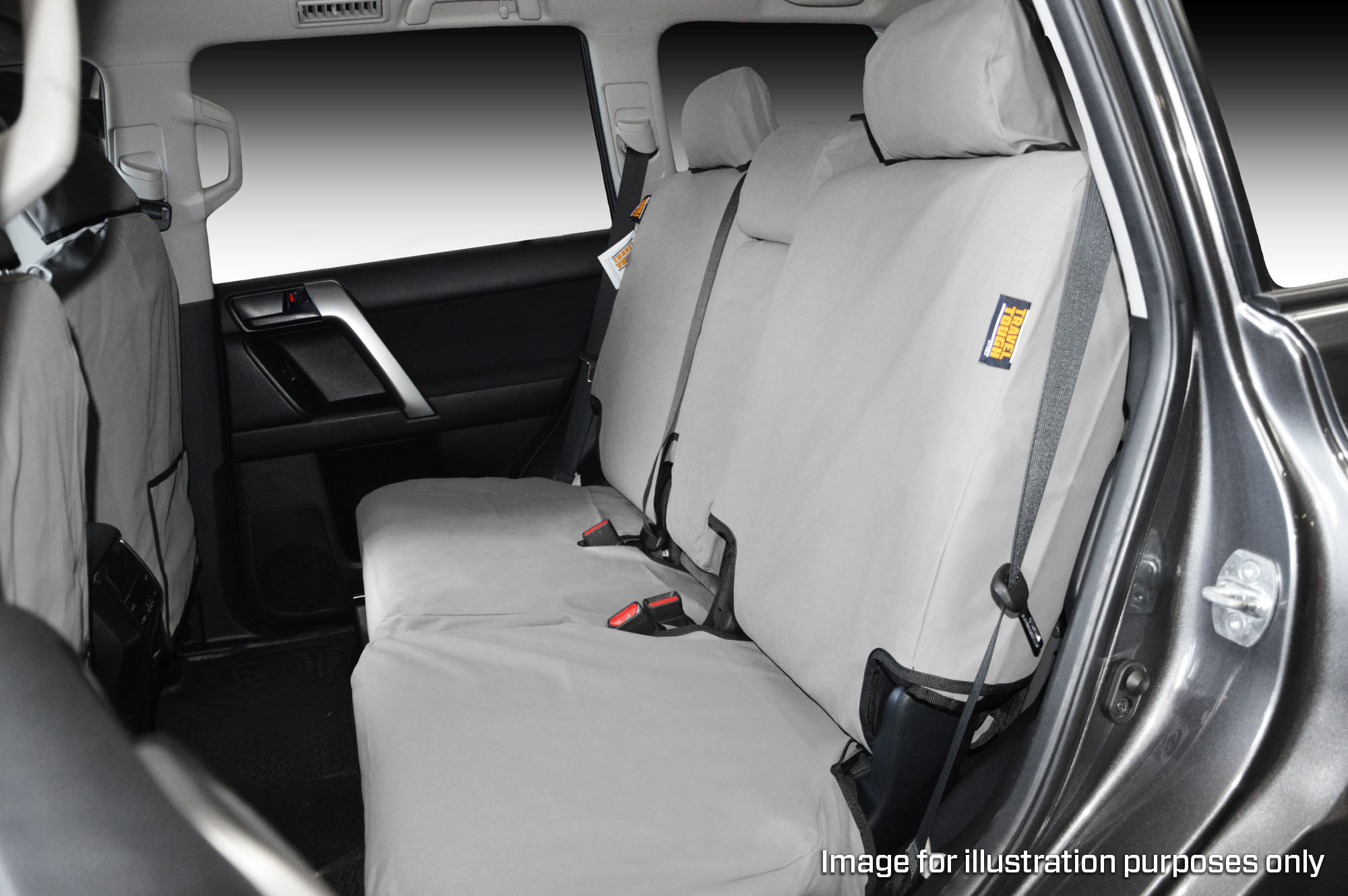 Swell Toyota Hilux Rear Dual Cab Bench 60 40 Split Seat Full Width Back With Fold Down Armrest And 3 X Headrests Travel Tough Msa 4X4 Accessories Uwap Interior Chair Design Uwaporg