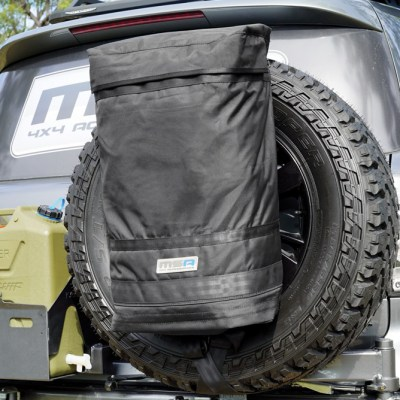 Rear Wheel Rubbish Bin - MSA 4X4 accessories product