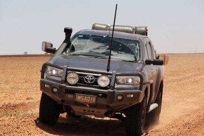 Toyota Sr5 Hilux - Towing Mirror Testing by MSA 4X4 Accessories