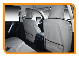 The best fit Canvas Seat Covers available for your 4WD