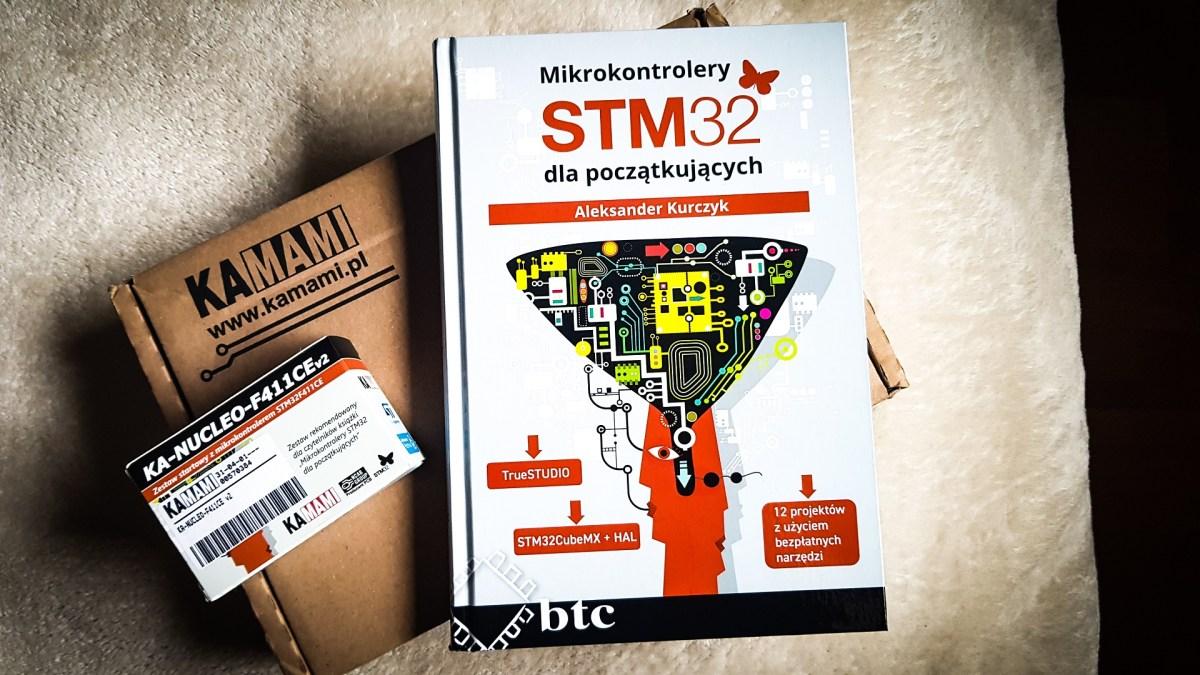 """Prześwietlam książkę """"Mikrokontrolery STM32 dla początkujących"""""""