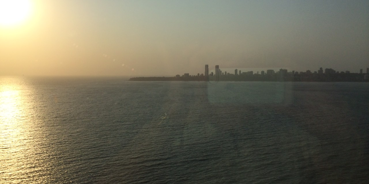 On the Mumbai seafront