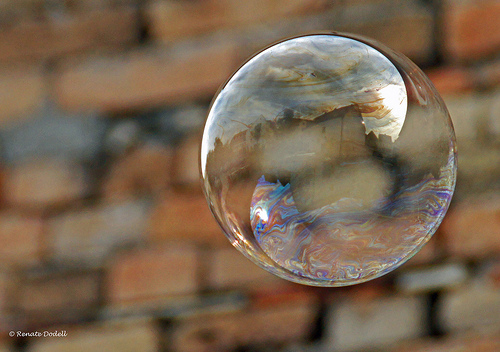 The man in the bubble