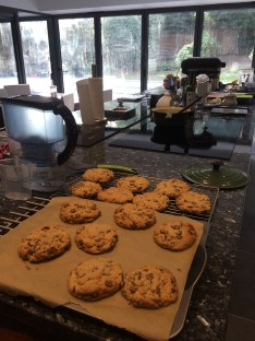 I'd no idea that chocolate chip cookies were so easy to make. Guess this means I'll never be President.