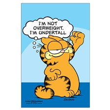 garfield_quotim_undertallquot_posters