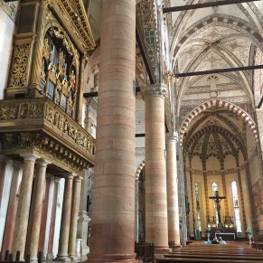 St Anastasia's church, Verona