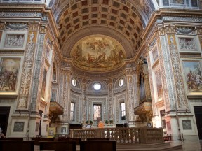 Mantua cathedral and its painting