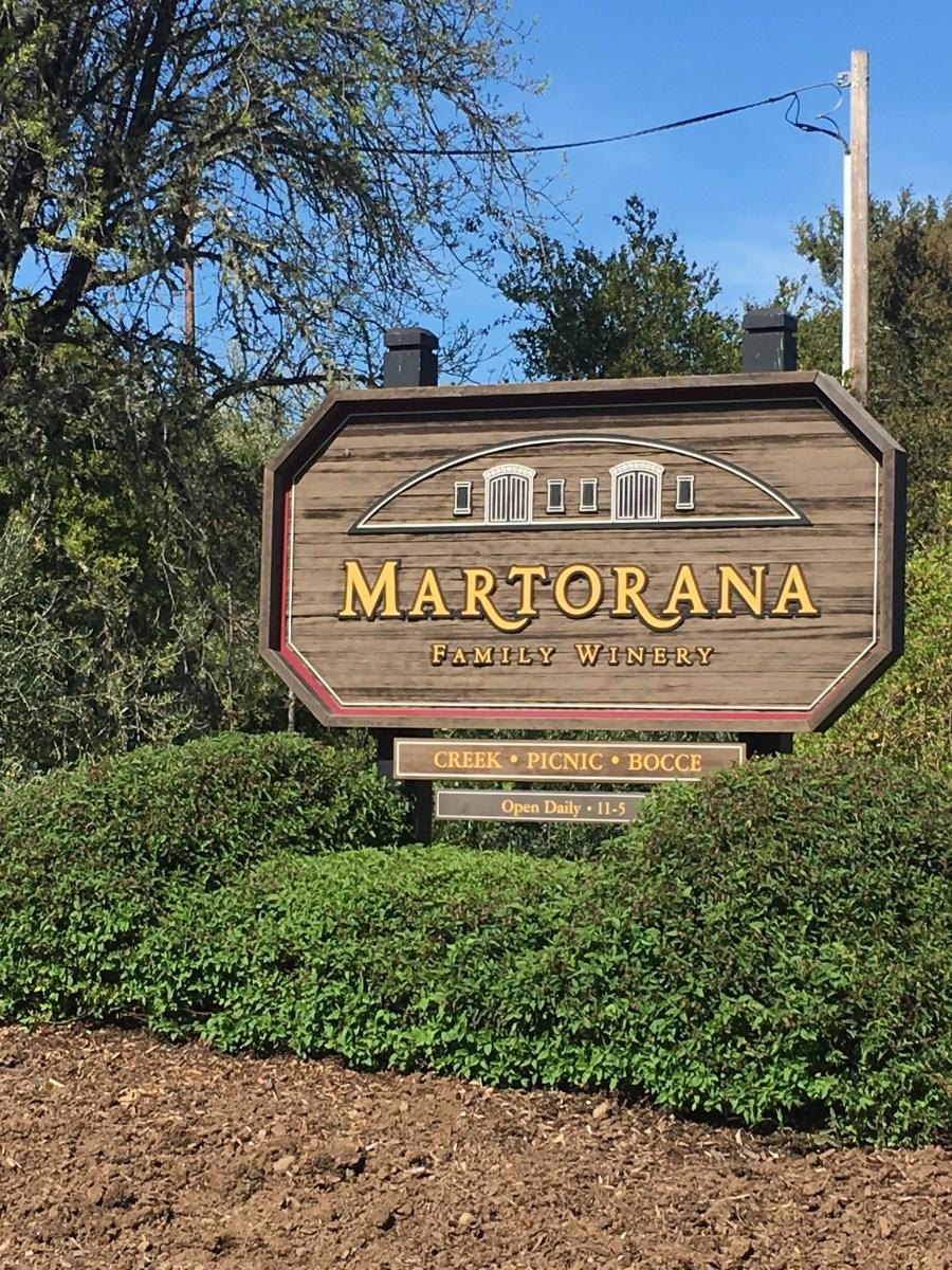 Martorana Family Winery (Healdsburg, Ca. Estados Unidos)