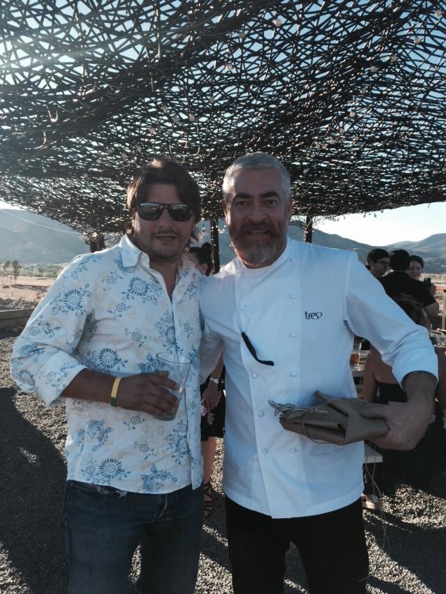 Chef Alex Atala (Vena Cava, Valle de Guadalupe. México)
