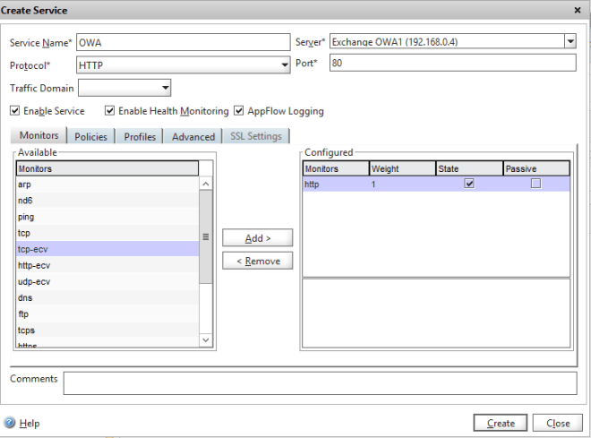Load-balancing Exchange 2013 on Citrix Netscaler | Marius Sandbu
