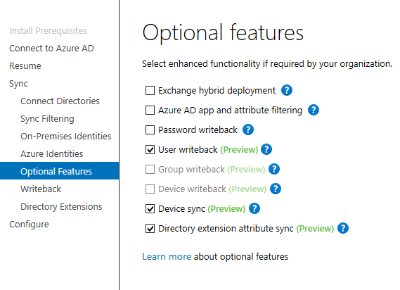 Azure AD Connect Preview 2 is available | Marius Sandbu